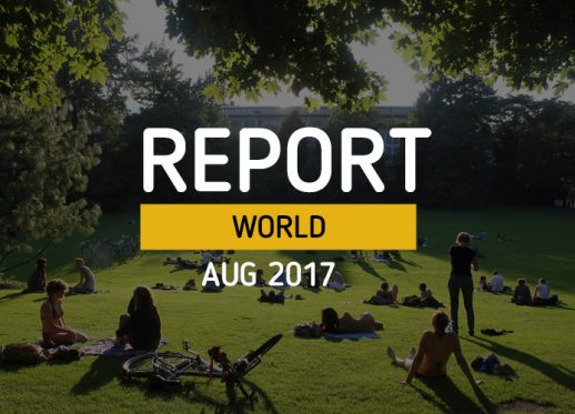 TOMI WORLD Report AUG 17: August is meant to be spent out