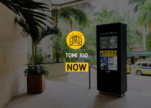 TOMI Rio NOW: TOMI is expanding its network!