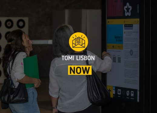 TOMI Lisbon NOW: TOMI reinforces its worldwide recognition!