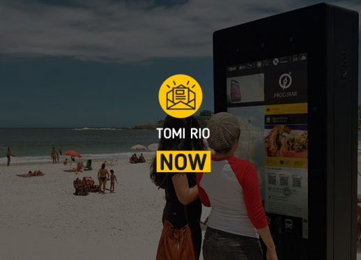 TOMI Rio NOW: TOMI está em destaque no Rio