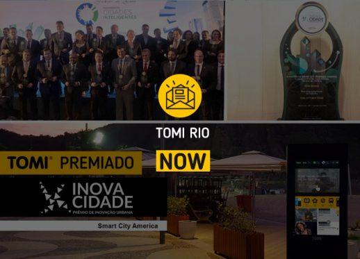 TOMI Rio NOW: TOMI wins the InnovaCity award!