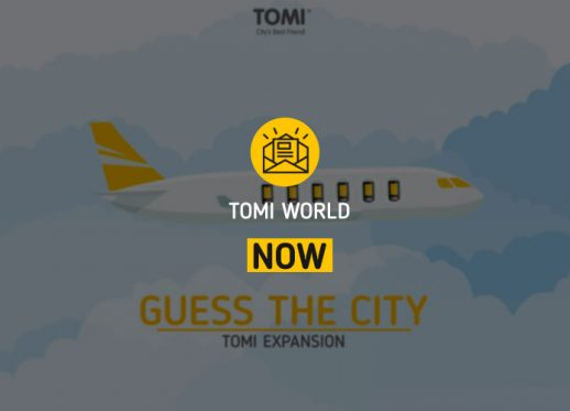(English) TOMI WORLD NOW: TOMI is travelling abroad to a new city!