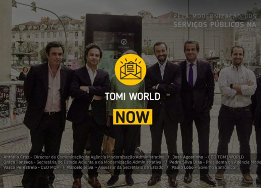 TOMI WORLD NOW: TOMI innovates with public services!