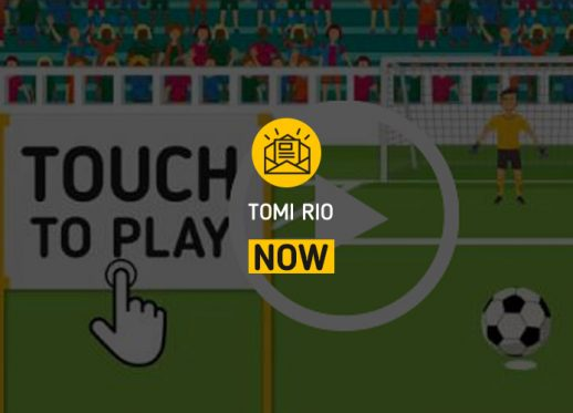 (English) TOMI Rio NOW:  TOMI joga na Copa do Mundo!