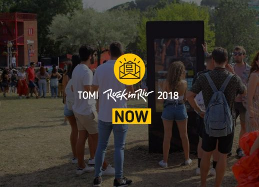 TOMI Rock in Rio 2018:  TOMI: the city of rock's best friend!