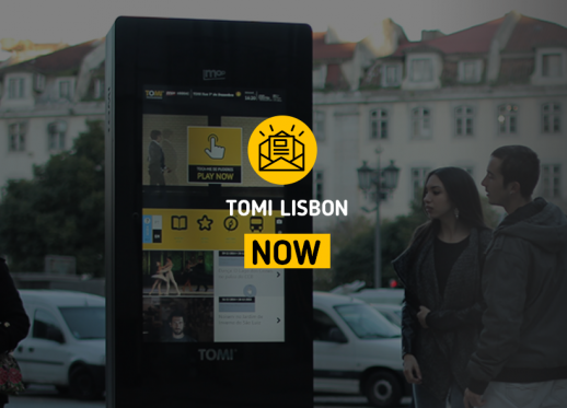 TOMI Lisbon NOW: TOMI is the best e-gov solution!