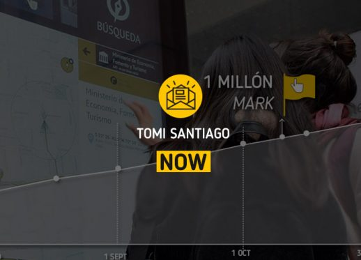 TOMI Santiago NOW: TOMI hits the 1 million interactions mark!