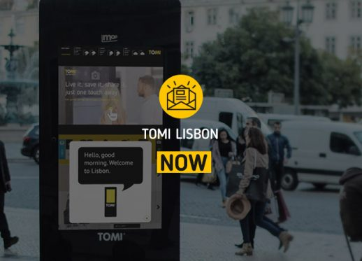 TOMI Lisbon NOW: TOMI says hi to Lisbon!