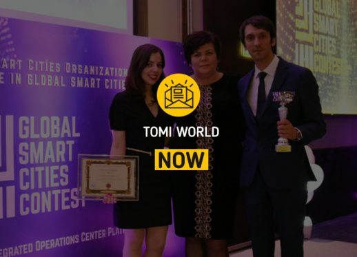 TOMI WORLD NOW: TOMI wins global E-Gov award!