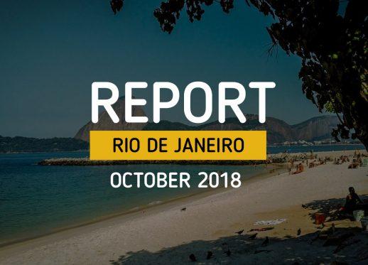 Report Rio Oct 18: Sunny days in Rio!