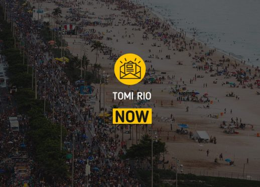 TOMI Rio NOW: TOMI spreads the Carnival revelry!