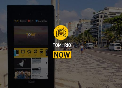 (English) TOMI Rio NOW:  The TOMI at Ipanema caught everyone's attention!