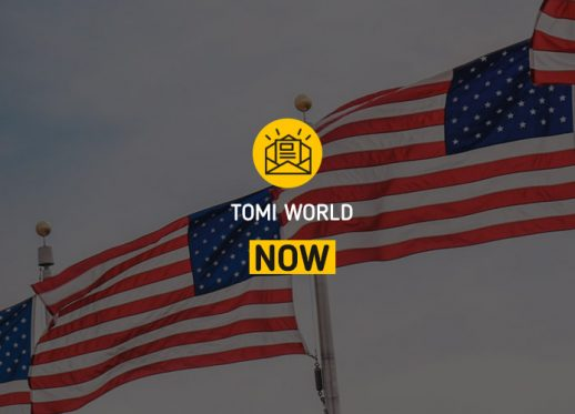 TOMI WORLD Now: TOMI will expand to USA